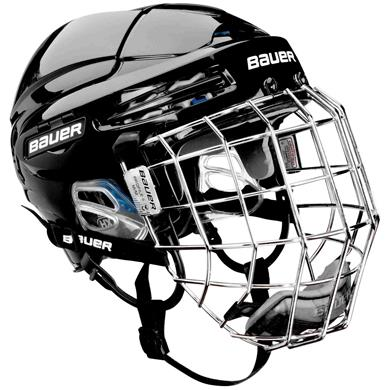 Hockeyhjälmar med galler