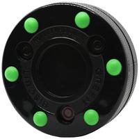 Green Biscuit Puck Roller Hockey