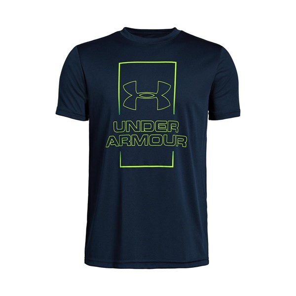 Under Armour T-Shirts Vertical Box Fade T-Shirt Jr.