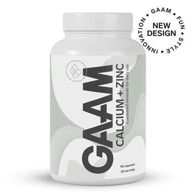 GAAM Calcium + Zinc