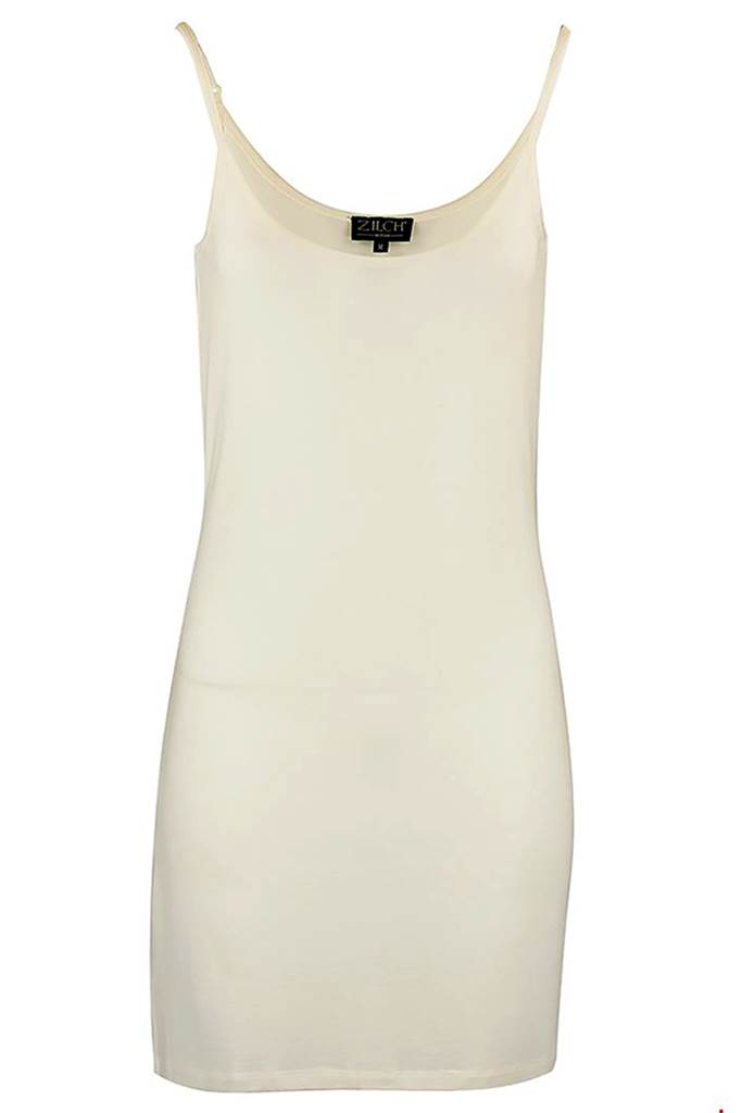 Slip dress tencel off white