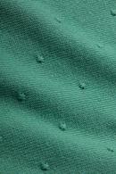 Roundneck kofta Droplet Spar Green