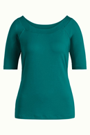 Sarah Top Viscose Lycra para green