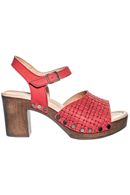 Eva nobuck red stl. 36