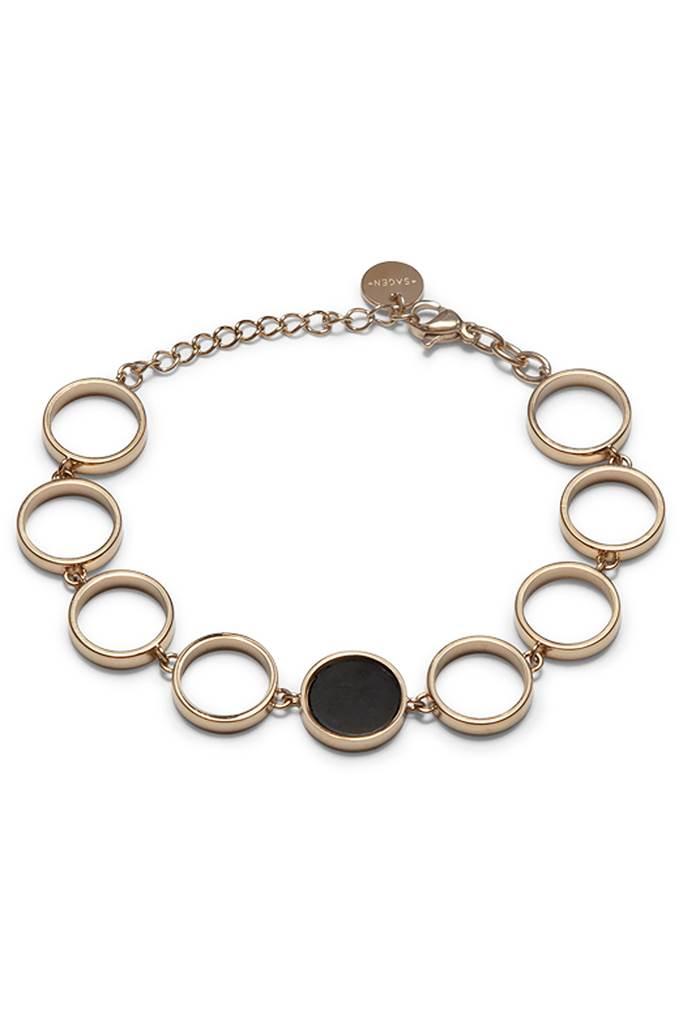 Luna golden bracelet