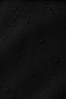 Roundneck kofta raglan droplet black