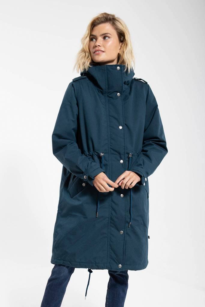 Lizzy winter parka deep ocean