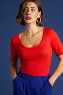 Carice topp Fire Red