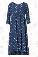 Viola klänning blue dots