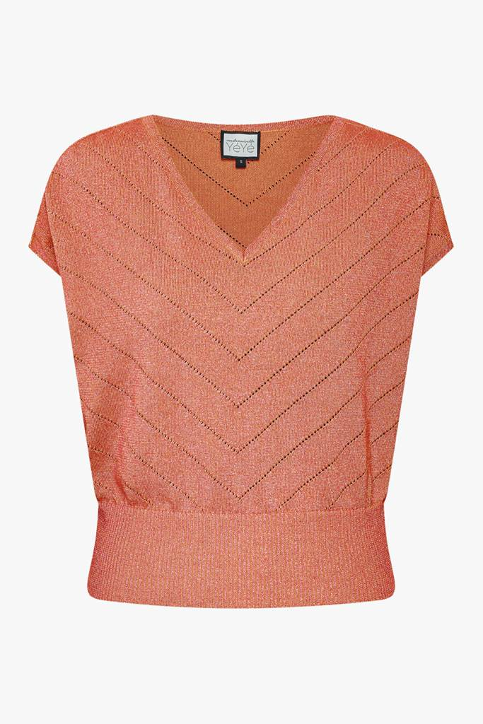 Sunday Girl Knit Top rouge