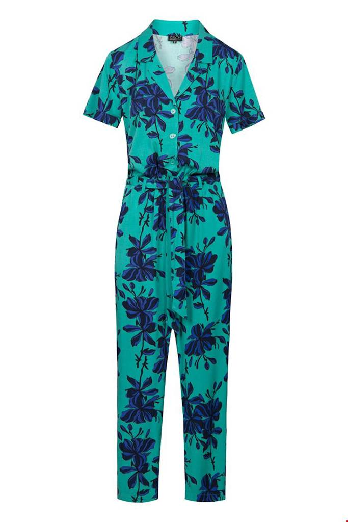 Byxdress flowers emerald