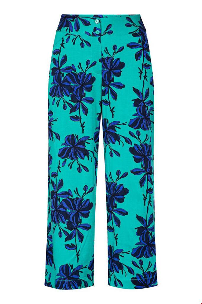 Culotte flowers emerald