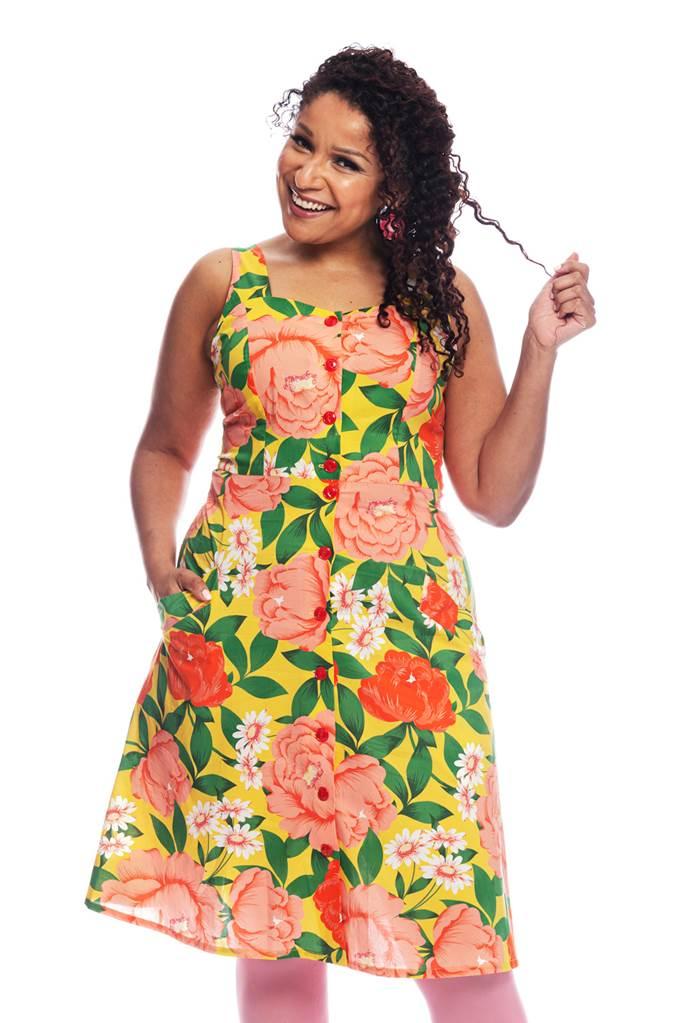 Maja klänning Fägring