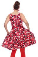 Saga klänning Karamell
