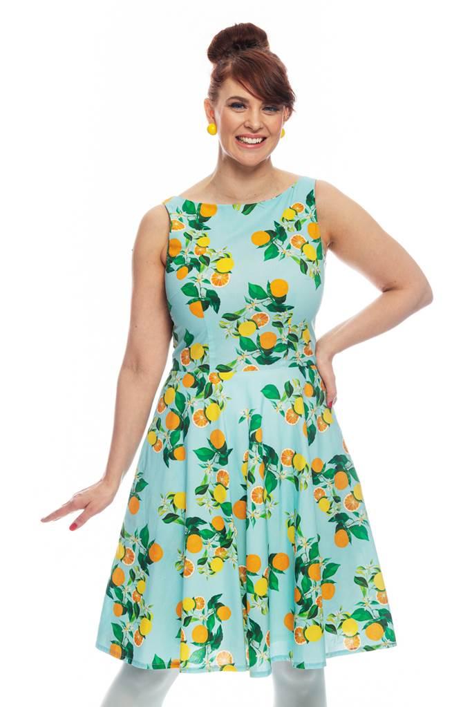 Saga klänning Citrus