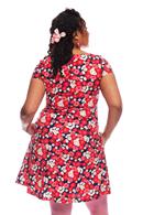 Siv klänning Karamell