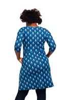 Ester klänning Påfågel