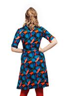 Monica klänning Abstrakt