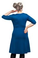 Ester klänning Petrol