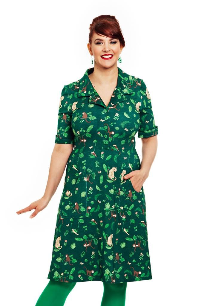 Monica klänning Apor