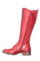 Pandora känga  högt skaft Ruby Red