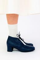 Frida 28 sko Nappa Navy