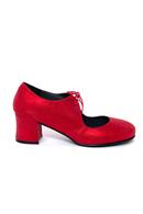 Frida 4 sko Metallic Red