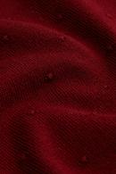 Roundneck kofta raglan droplet Beet Red