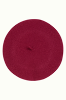 Wool basker Lilac Red