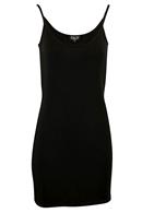 Slip dress Tencel black