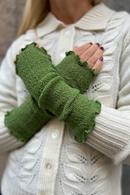 Handledsvärmare muddar mosstickad Ärtgrön