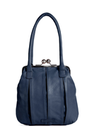 Annecy Bag - Buff washed Midnight blue