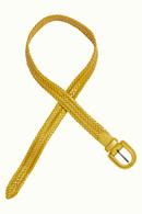Braidy skärp Curry yellow