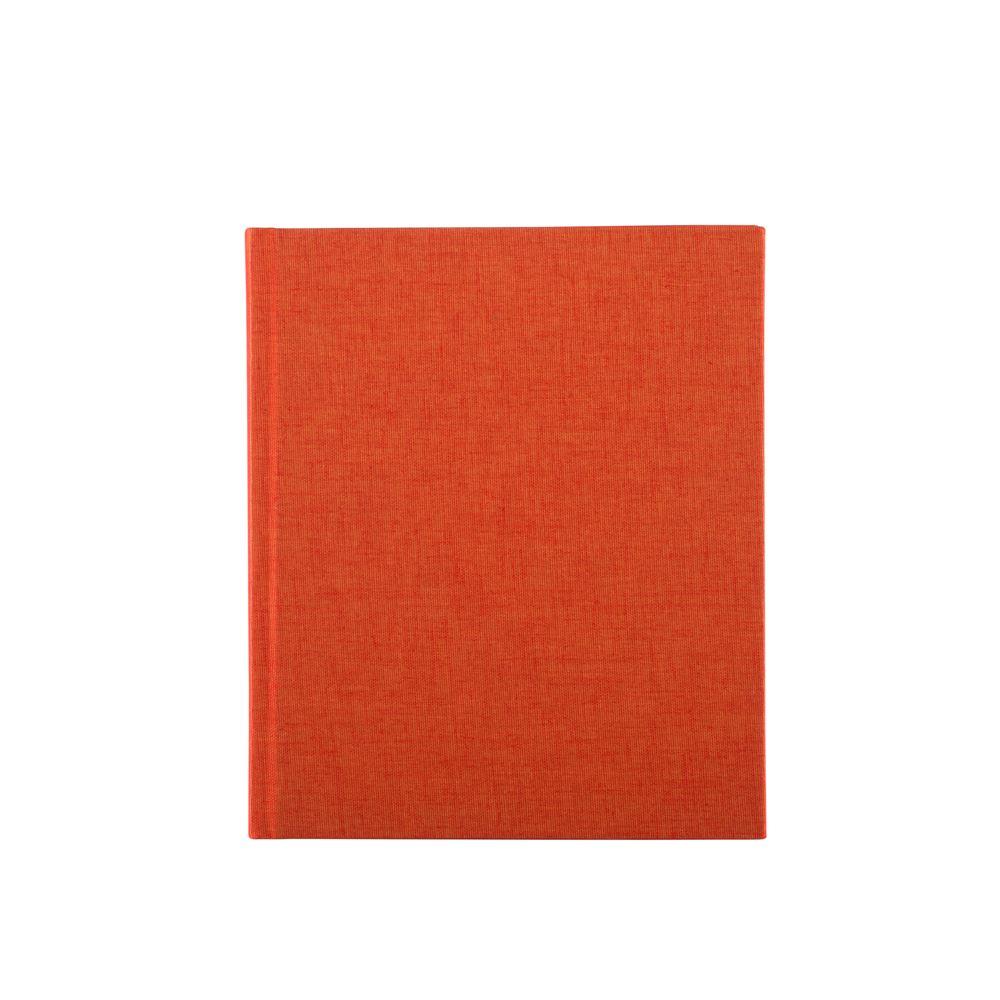 Notizbuch gebunden, Orange
