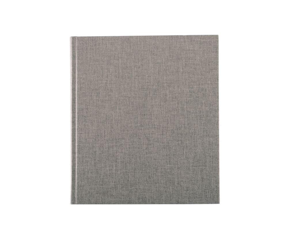 Carnet en toile, light grey