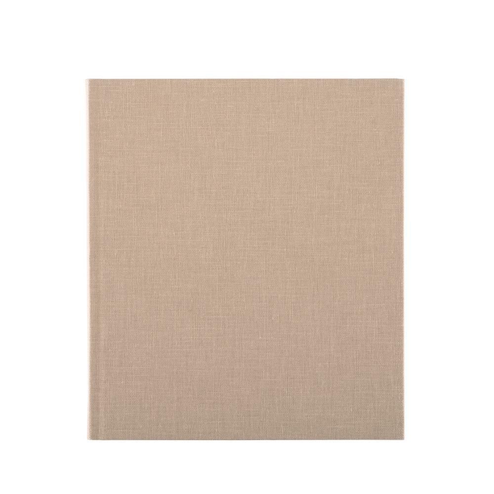 Carnet en toile, sand brown