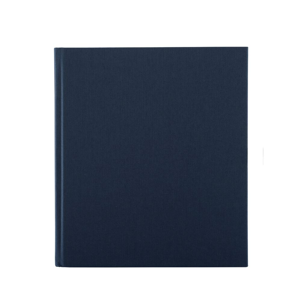 Notebook hardcover, Smoke blue