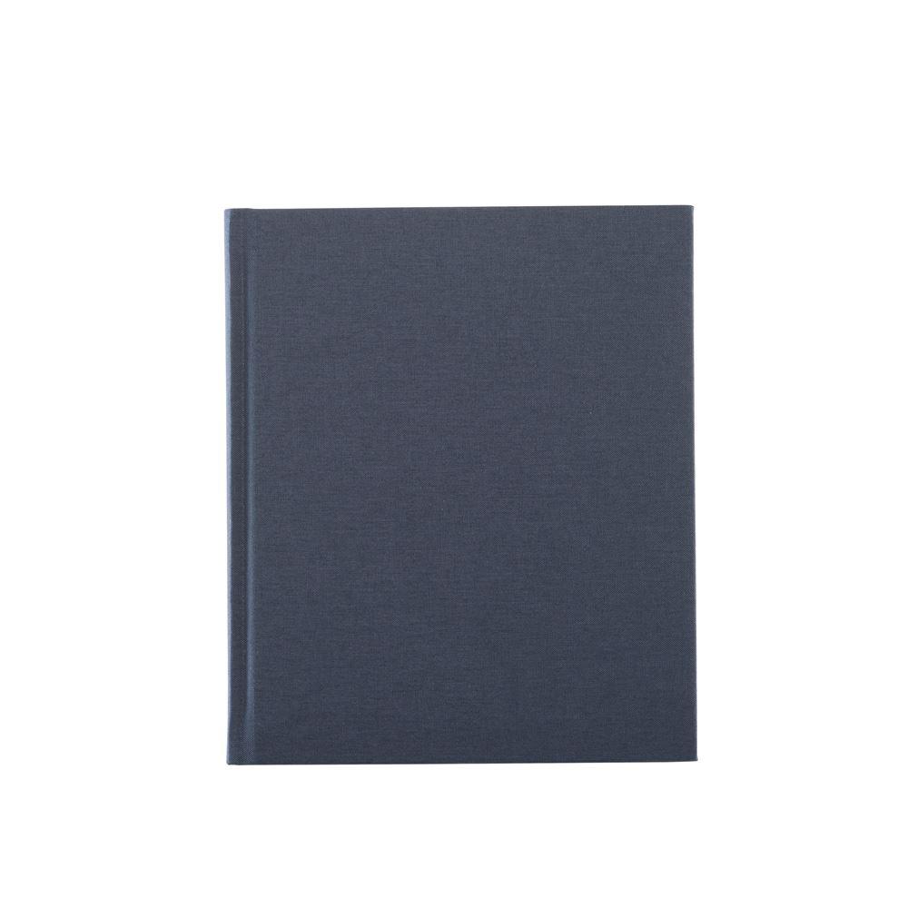 Notizbuch gebunden, Smoke Blue