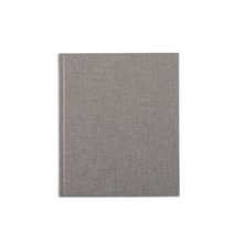 Carnet en toile, light grey