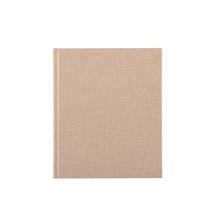 Notebook hardcover, Sand
