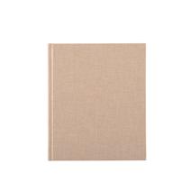 Notizbuch gebunden, Sand Brown