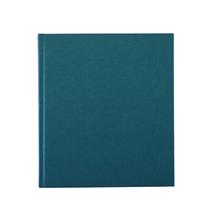 Carnet en toile, emerald