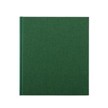 Carnet en toile, green