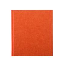 Carnet en toile, orange