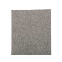 Notebook hardcover, Light grey