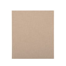 Notebook hardcover, Sand brown
