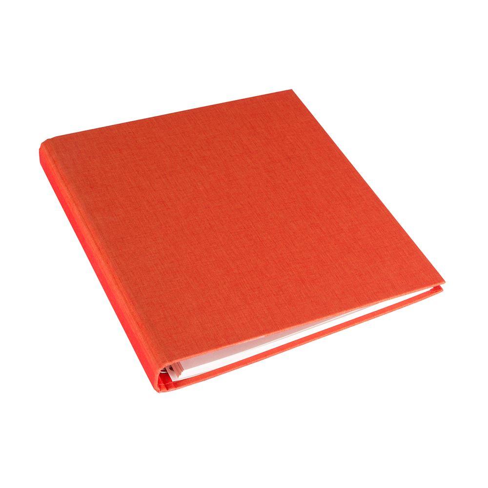 Vävklätt Fotoalbum, Orange