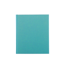 Carnet en toile, turquoise