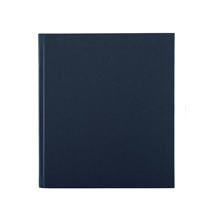 Notebook hardcover, Dark blue
