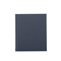 Carnet en toile, smoke blue